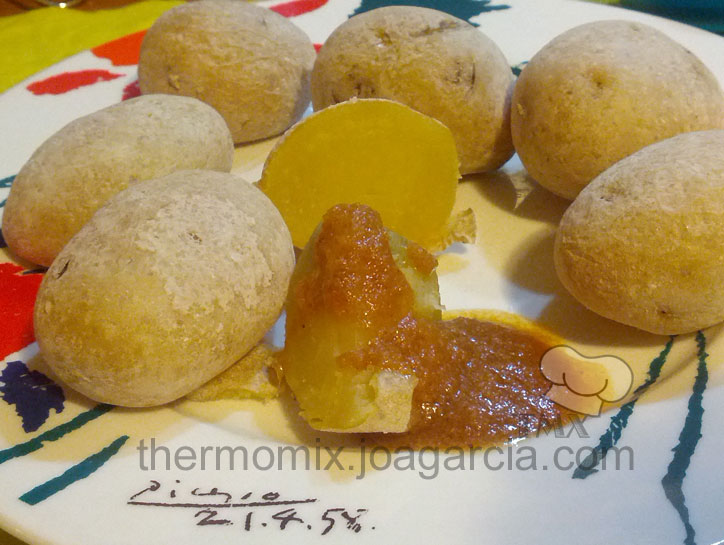 Papas arrugás Thermomix