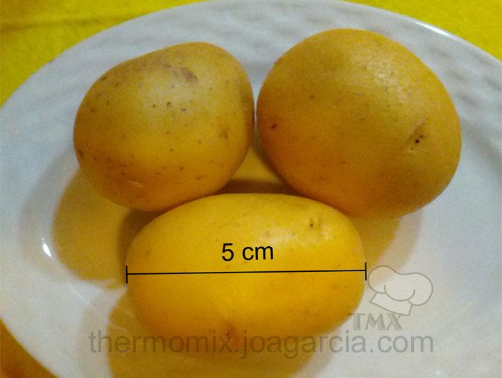 patatas para arrugar