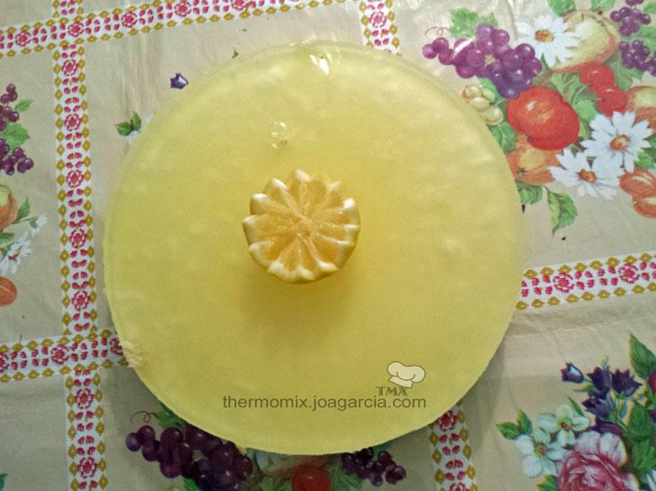 Tarta Gin Tonic con sabor limón