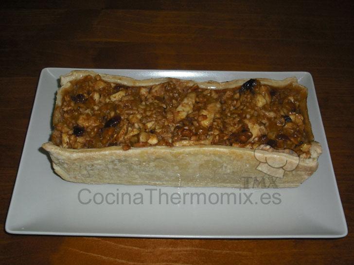 pastel de manzana thermomix