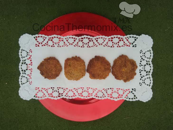 Galletas integrales de naranja y avena con Thermomix