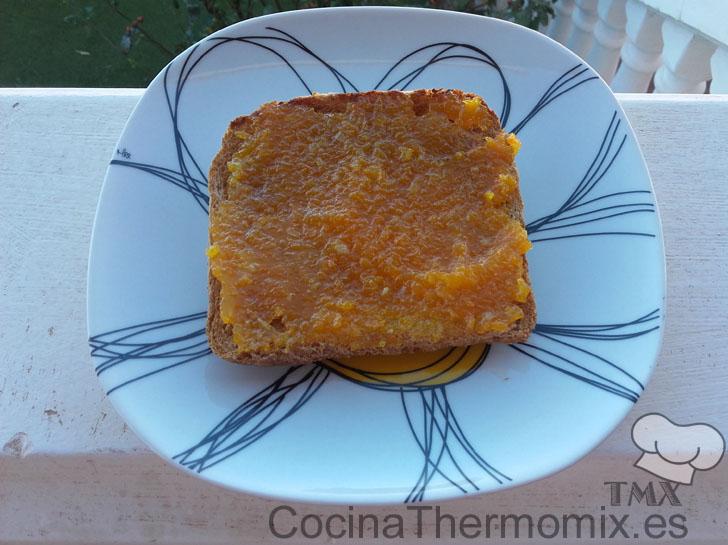 Mermelada de calabaza y naranja con Thermomix