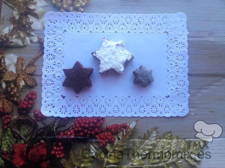 Estrellitas de chocolate con thermomix