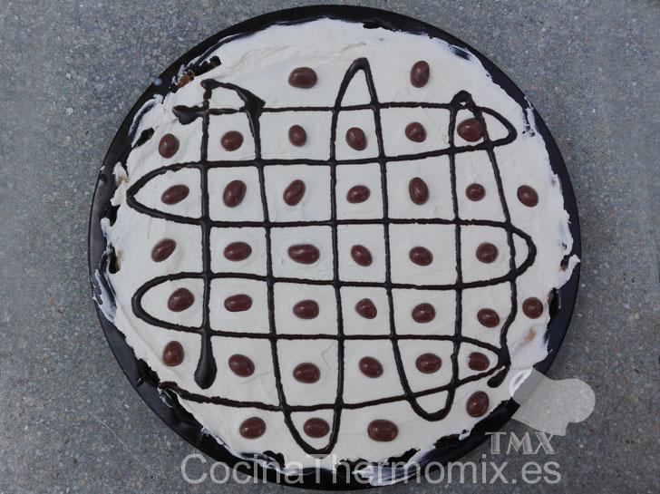 Tarta de crema de cacahuete con Thermomix