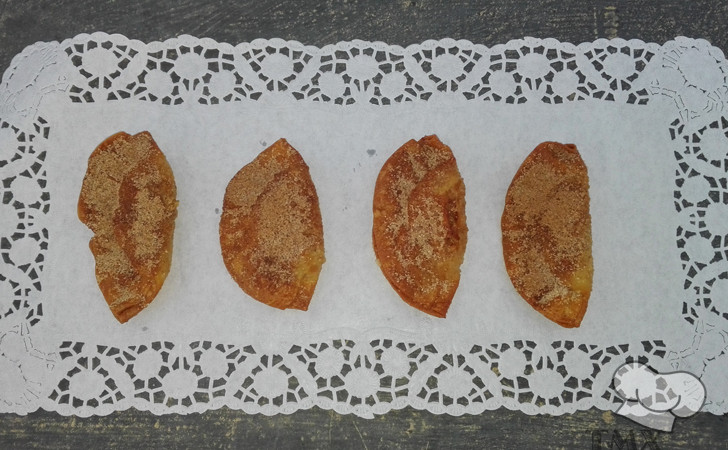 Empanadillas dulces de garbanzos con Thermomix