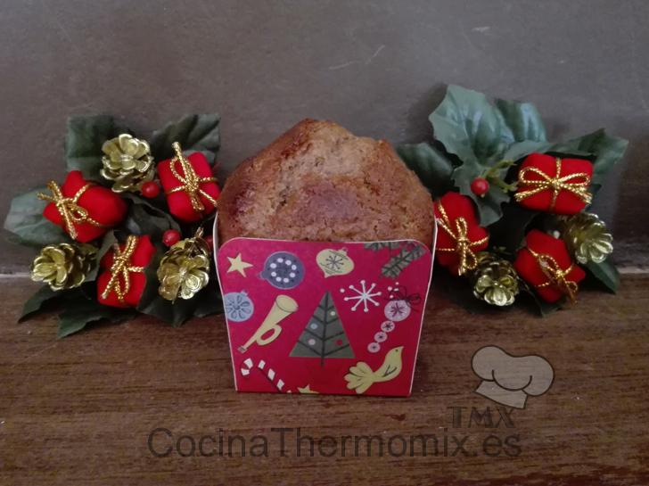 Muffins de chocolate con mantequilla de cacahuete con Thermomix