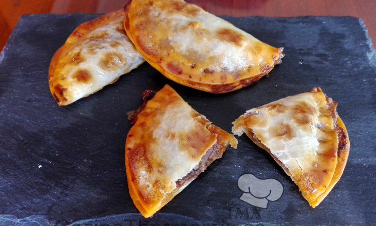Empanadillas de ternera y uva