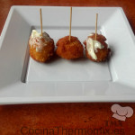 Bolitas de arroz con queso con Thermomix