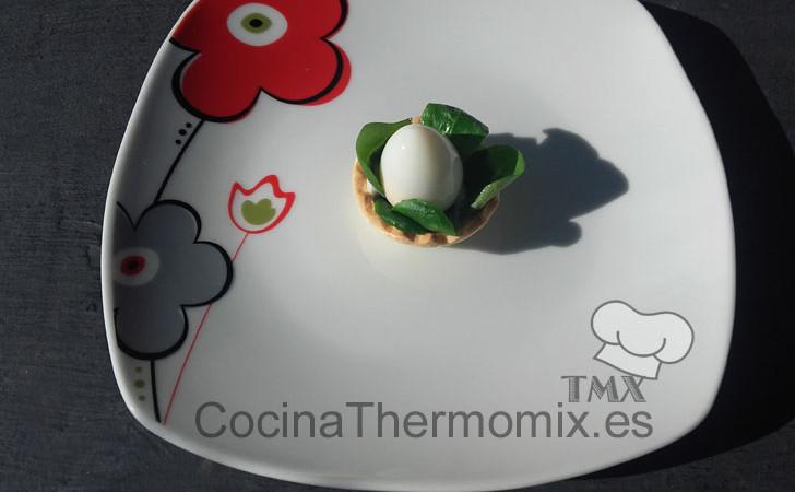 Huevo de codorniz cocido