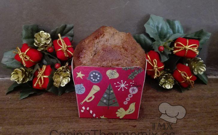 Muffins de chocolate con mantequilla de cacahuete