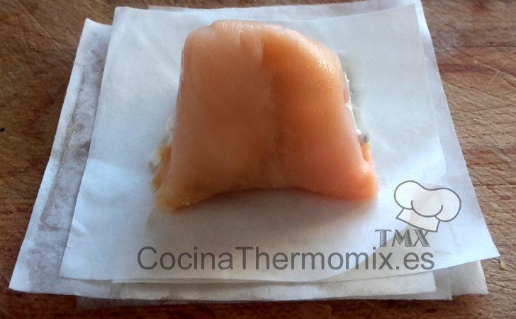 Bombones de salmón y queso